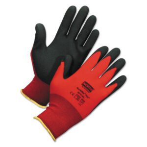 Honeywell North® NorthFlex Red Foamed PVC Palm Coated Gloves