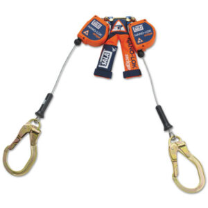 DBI-SALA® Nano-Lok Edge Twin-Leg Quick Connect Self-Retracting Cable Lifelines