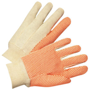 Anchor Brand Dotted Canvas Gloves