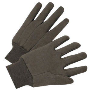 Anchor Brand Standard Weight Cotton Brown Jersey Gloves