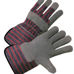Anchor Brand Cuff Leather Palm Gloves