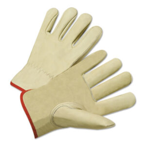 Anchor Brand 4015 Series Standard Grain Cowhide Leather Driver Gloves