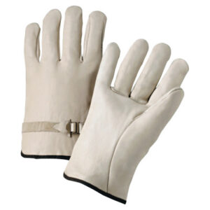 Anchor Brand 4100 Series Quality Grain Cowhide Leather Driver Gloves