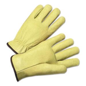 Anchor Brand 4900 Series Standard Grain Pigskin Driver Gloves Driver Gloves