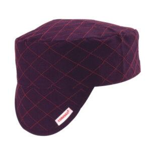 Comeaux Caps Style 3000 Black Quilted Shop Caps
