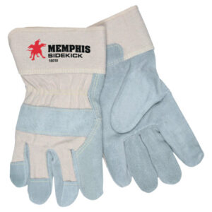 MCR Safety Sidekick® Double Select Side Leather Gloves