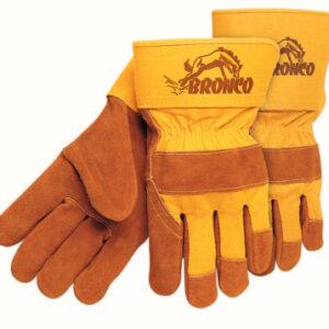 MCR Safety Premium Side Split Cow Gloves