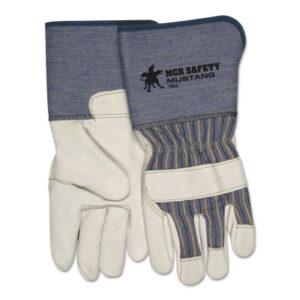 MCR Safety Premium Grain Leather Palm Gloves
