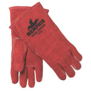 MCR Safety Premium Shoulder Leather Welders Gloves