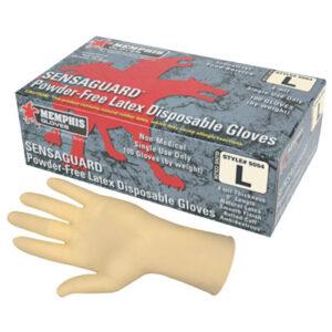 MCR Safety SENSAGUARD Disposable Latex Gloves