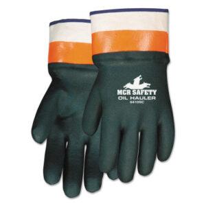 MCR Safety Oil Hauler Premium Double Dip PVC Coated Gloves