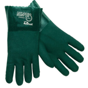 MCR Safety Premium Double-Dipped PVC Gloves