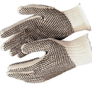 MCR Safety PVC Dot String Knit Gloves