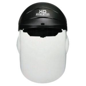 MCR Safety XO Skeleton Headgear with Molded Faceshield