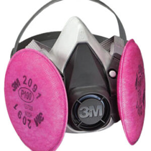 3M Personal Safety Division 6000 Series Half Facepiece Respirator Assemblies