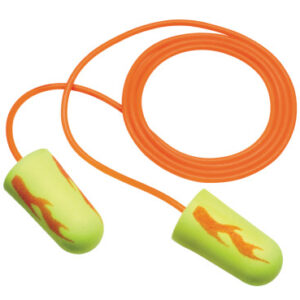 3M  Personal Safety Division E-A-Rsoft  Yellow Neon Blasts  Foam Earplugs