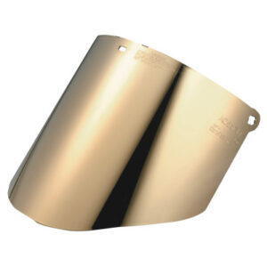 3M Personal Safety Division Gold-Coated Polycarbonate Clear Faceshield Window WCP96G