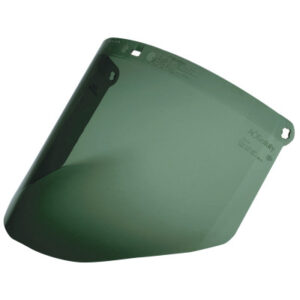 3M Personal Safety Division Dark Green Polycarbonate Faceshield WP96C