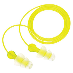 3M  Personal Safety Division Tri-Flange  Earplugs