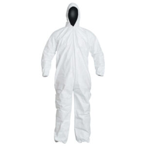 DuPont  Tyvek® IsoClean® Coverall with attached Hood
