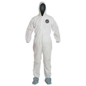 DuPont  Proshield® 10 Coveralls White with Attached Hood and Boots