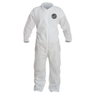 DuPont  Proshield® 10 Coveralls White with Elastic Wrists and Ankles