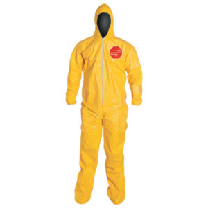DuPont  Tychem® 2000 Coveralls with Attached Hood and Socks