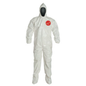 DuPont  Tychem® SL Coveralls with attached Hood and Socks