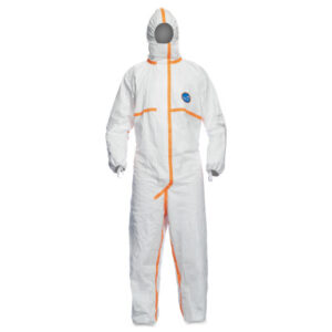 DuPont  Tyvek® Hooded Coveralls with Elastic Wrists and Ankles
