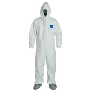 DuPont  Tyvek® Coveralls With Attached Hood and Boots