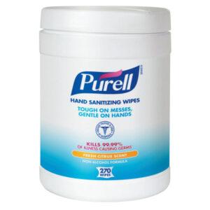 Gojo Purell Hand Sanitizing Wipes