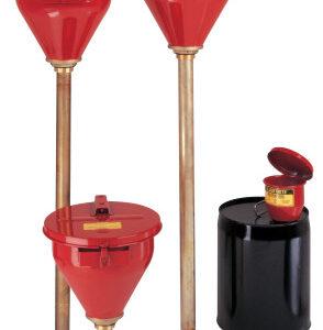 Justrite Safety Drum Funnels