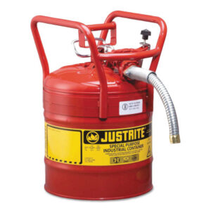 Justrite Type II AccuFlow DOT Safety Cans