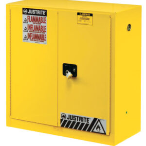 Justrite Yellow Safety Cabinets for Flammables