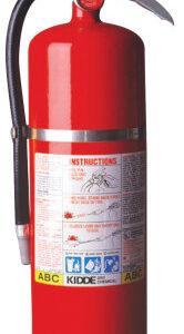 Kidde ProPlus Multi-Purpose Dry Chemical Fire Extinguishers - ABC Type