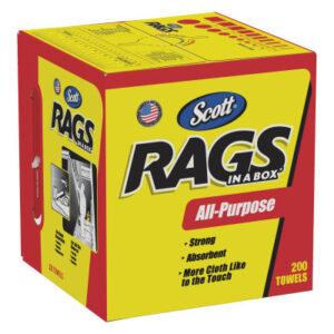Kimberly-Clark Professional Scott Rags In-A-Box