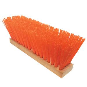 Magnolia Brush OSHA-Orange Plastic Street Brooms