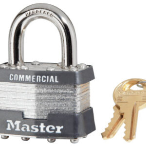 Master Lock No. 1 Laminated Steel Pin Tumbler Padlocks