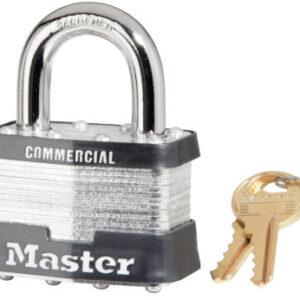 Master Lock No. 5 Laminated Steel Pin Tumbler Padlocks