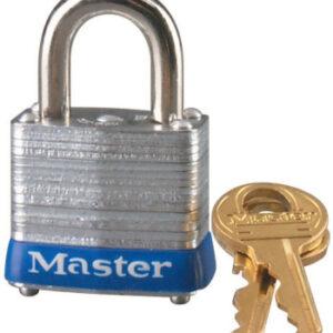 Master Lock No. 7 Laminated Steel Pin Tumbler Padlocks