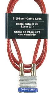 Master Lock No. 719 Cable Locks