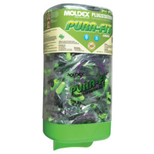 Moldex Plugstation® Dispenser with Corded Pura-Fit® Earplugs