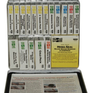 First Aid Only® 24 Unit Steel First Aid Kits
