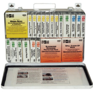 First Aid Only® 36 Unit Steel First Aid Kits