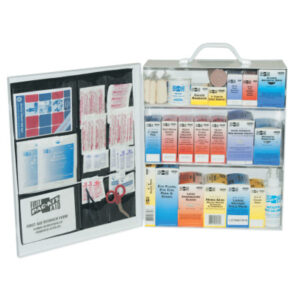 First Aid Only® 3-Shelf Industrial First Aid Stations