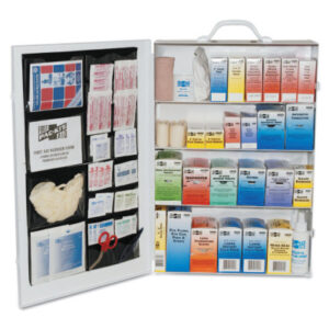 First Aid Only® 4-Shelf Industrial First Aid Stations