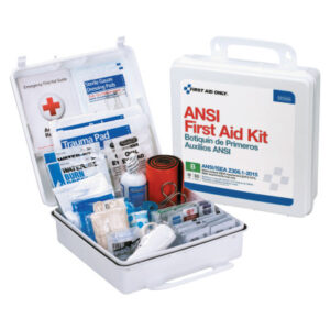 First Aid Only® ANSI B Type III Weatherproof 50 Person Bulk First Aid Kits