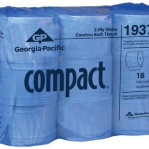 Georgia-Pacific Compact Coreless High Capacity Bathroom Tissue