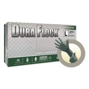 Microflex® Dura Flock® DFK-608 Disposable Nitrile Gloves