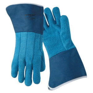 Wells Lamont Jomac Blue Terry Cloth with Duck Cuff Gloves